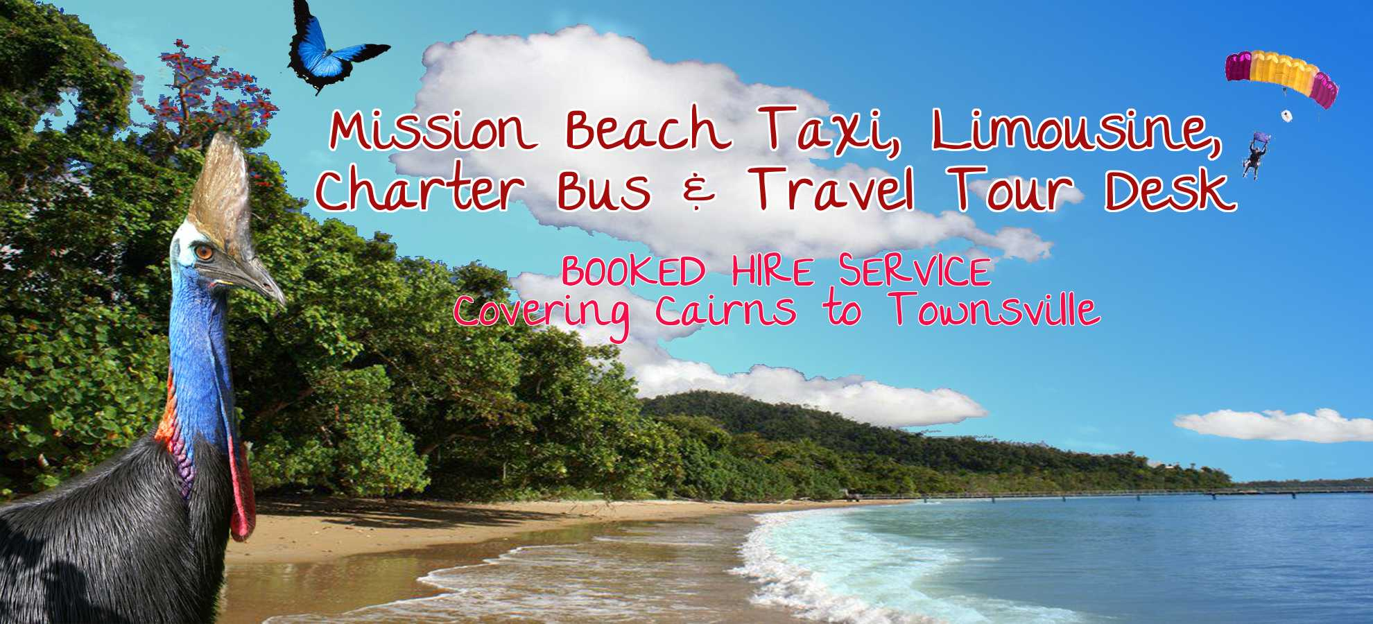 Mission Beach Taxi, Limousine, Charter Buses
